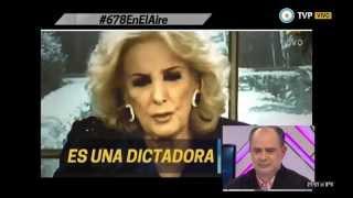"""678 - Mirtha aseguró que """"vivimos en una dictadura"""" - 23-07-15"""