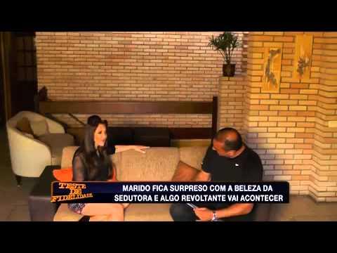 Atriz Joga Charme Para Pizzaiolo, Casado Há 9 Anos - Teste De Fidelidade 13/04/2014