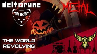 DELTARUNE - THE WORLD REVOLVING 【Intense Symphonic Metal Cover】