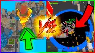 TORNADO.IO VS VOID.IO - 100% Map Control NEW .io Games ( Hole.io Gameplay ) Part 2