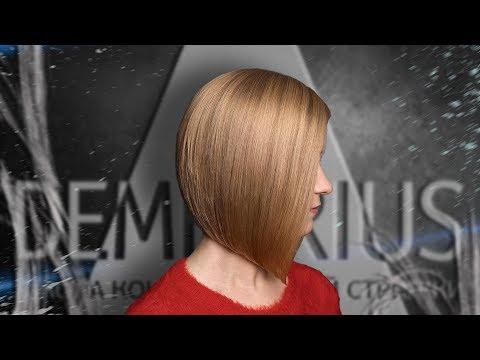 Demetrius | Каре на удлинение на натуральных волосах | Укладывать каре | Стрижка на короткие волосы