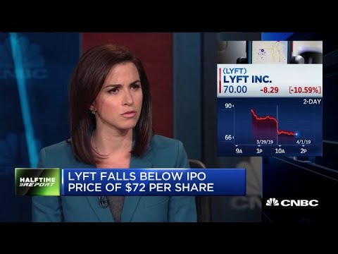 Lyft shares fall on second day of trading