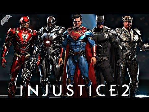 Injustice 2 Online - EPIC JUSTICE LEAGUE GEAR!