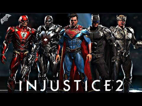 Thumbnail: Injustice 2 Online - EPIC JUSTICE LEAGUE GEAR!