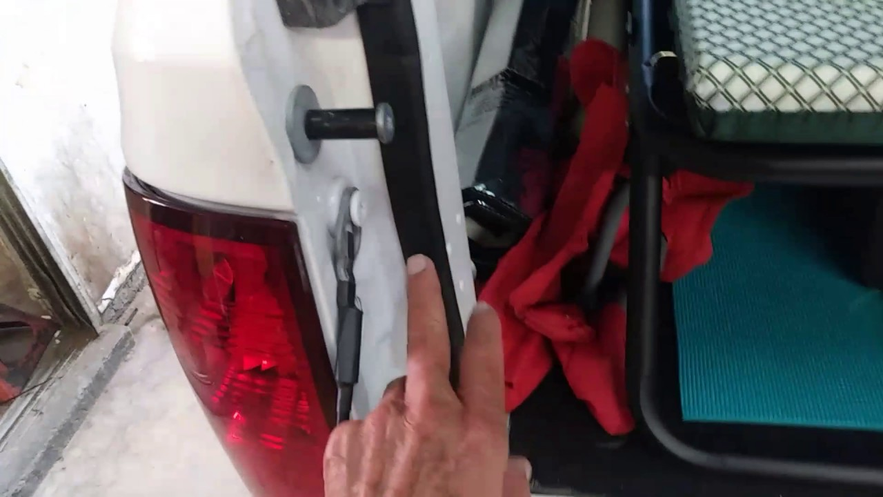 Lock Right Locker >> Truck Camper Top Tailgate Seal - YouTube