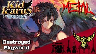 Kid Icarus: Uprising - Destroyed Skyworld (Smash Ver.) 【Intense Symphonic Metal Cover】
