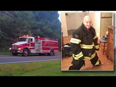 16-Year-Old Gets Firefighter's Welcome Home After Beating Cancer For 3rd Time
