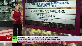 Tensions rise over Catalonia