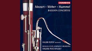 Bassoon Concerto in F Major, WoO 23, S63: II. Romanza: Andantino e cantabile