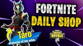 Fortnite Daily Shop *NEU* TARO SKIN (25 November 2018)