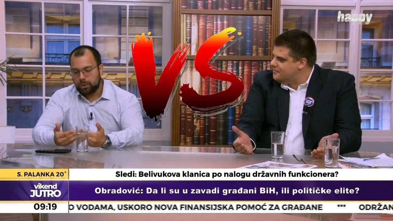ЖЕСТОК СУКОБ! Александар Шешељ против НАТО пропагандисте Дарка Обрадовића!