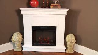 "Classicflame Phoenix 23"" Convertible Corner Electric Fireplace - 23dm537"