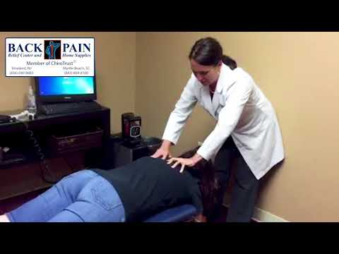 Hairdresser has Severe Neck Pain at Back Pain Relief Center, Vineland