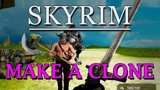 MAKE A SKYRIM CLONE OR OBLIVION - game guru game engine