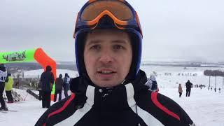 Соревнования по горным лыжам и сноуборду в Мариуполе