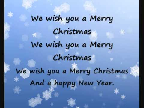 We wish you a merry Christmas karaoke/ instrumentaal - YouTube