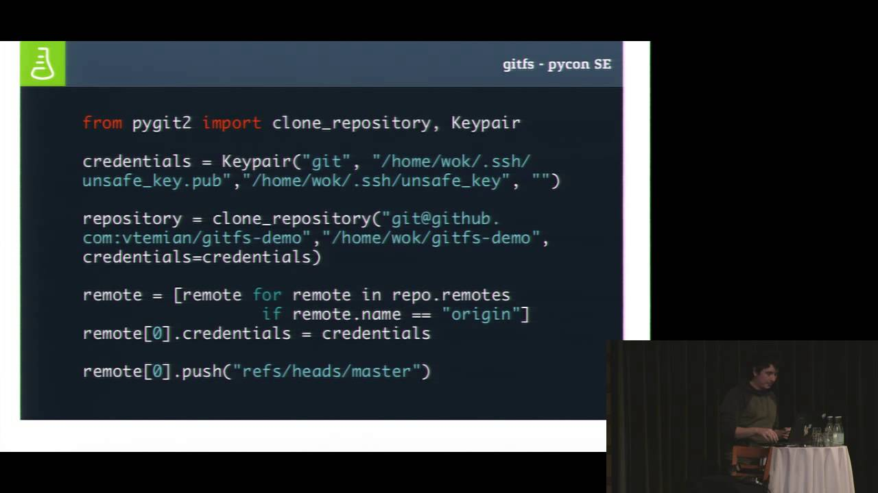 Image from GitFs: Building a file system in Python