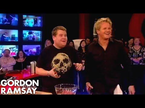 James Corden is Rude to His Mum  Gordon Ramsay