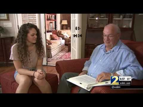 Grandpa started writing letters to granddaughter day she's born