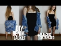 DIY DISTRESSED DENIM JACKET