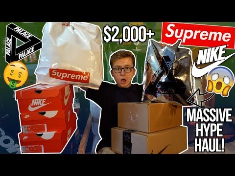 spending-$2,000-on-clothing-and-shoes-in-4-days-unboxing!-|-supreme,-nike,-palace,-funko-&-more!