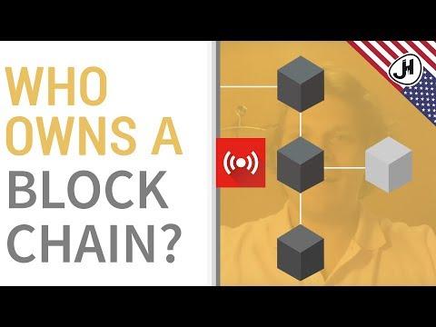 EN - Who owns a blockchain?