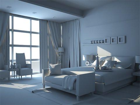 interior room vray max tutorial 3ds