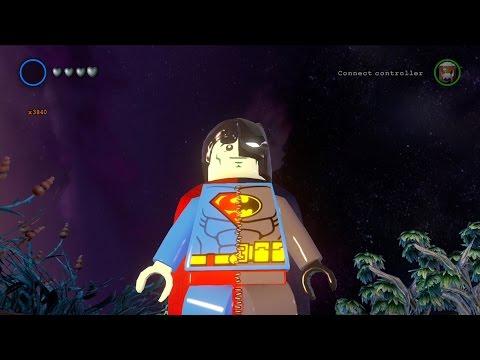 LEGO Batman 3: Beyond Gotham - Composite Superman Free Roam Gameplay [HD]