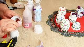 Как сделать баночки для хранения мелочей своими руками