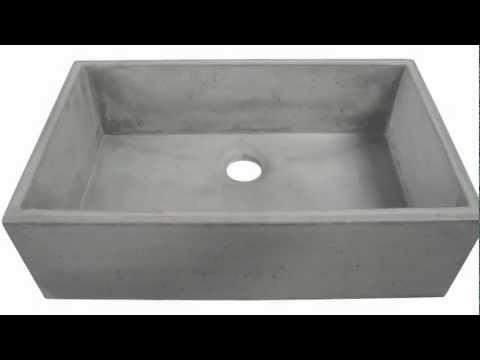 Concrete Bathroom Sinks