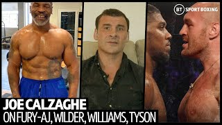 Joe Calzaghe Gives Honest Fury V Joshua Prediction, Liam Williams World Title, Mike Tyson Comeback