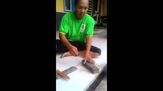 Cara mengasa pisau cepat tajam