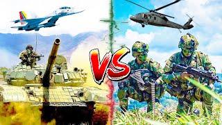 ВЕНЕСУЭЛА vs КОЛУМБИЯ ⭐ СРАВНЕНИЕ АРМИИ ⭐ Fuerza Armada Bolivariana VS Ejército Colombiano