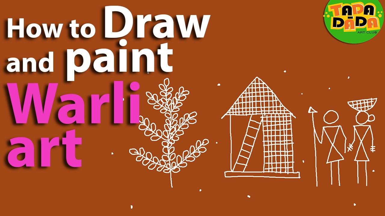 Learn how to draw and paint warli youtube for How to learn glass painting at home