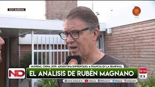 Ruben Magnano elogió a la Selección de Basquet que juega las semifinales del Mundial de China