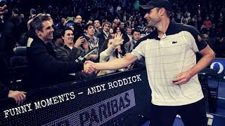 Tennis. Andy Roddick  - TOP EVER FUNNY Moments