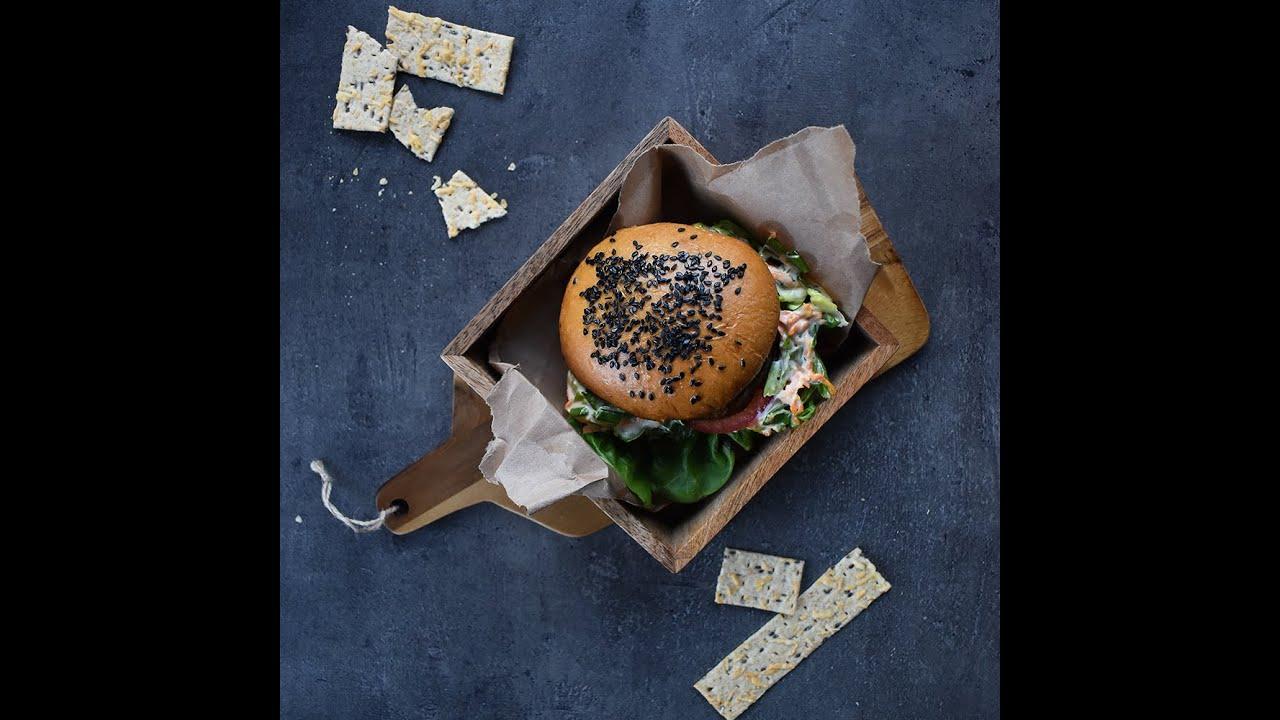 Retsept: Portobello burger