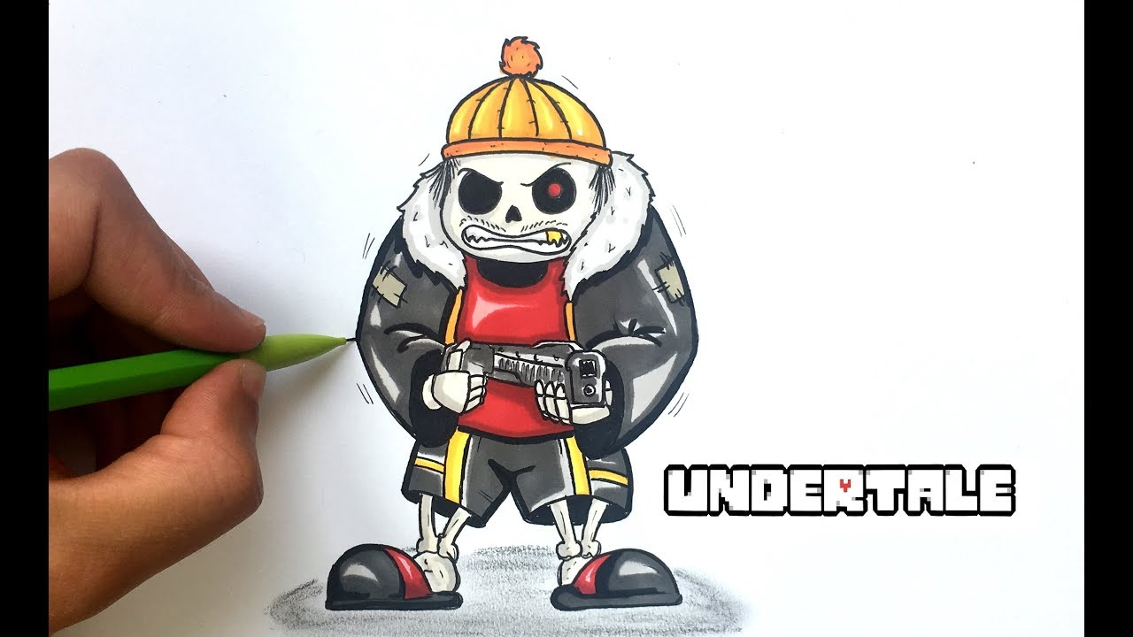 Dessin Sans Gangster Undertale Youtube