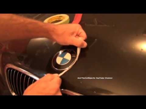 Bmw Hood Emblem Replacement Diy Roundel Replacement Made Easy Youtube