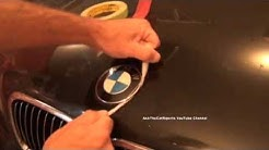 BMW Hood Emblem Replacement DIY Roundel Replacement Made Easy