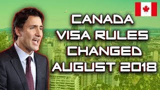 Latest Changes In Canada Visa Rules Everyone Should Know