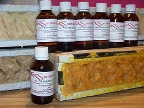 how-to-make-homemade-lye-soap,-patchouli-essential-oil