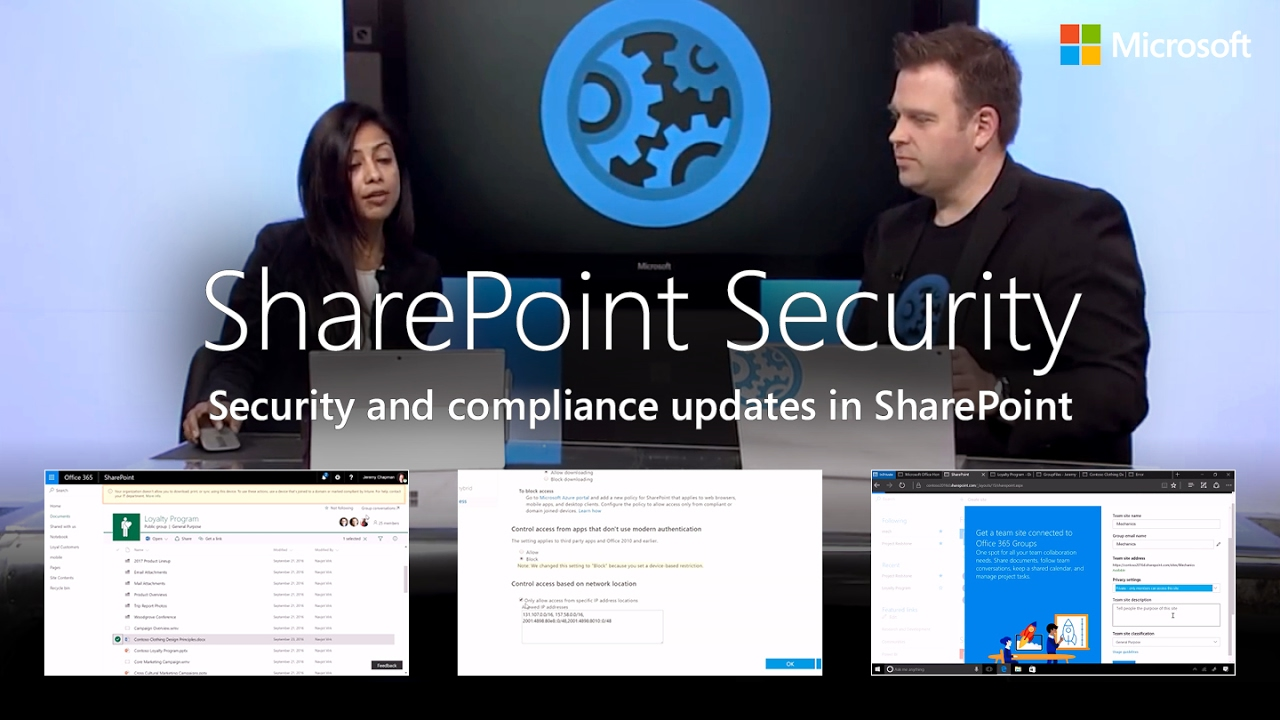 Sharepoint Security And Compliance Updates