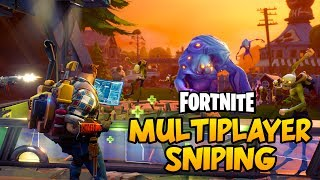 MULTIPLAYER SNIPING TIME! - Fortnite PC Gameplay #2