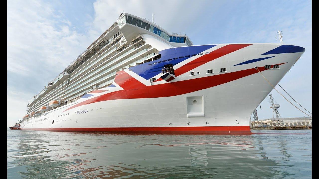 New Cruise Ship Luxury Britannia PO Lines YouTube - New luxury cruise ships