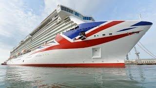 "New  Cruise Ship Luxury ""Britannia"" P&O Line"