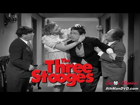 THE THREE STOOGES: Brideless Groom (1947) (Remastered) (HD 1080p)