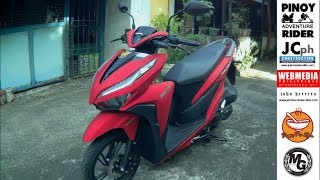 52 Km. per Liter Honda Click 150i ~ We got the RED one