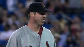 Chris Carpenter completes his one-hitter of Blue Jays