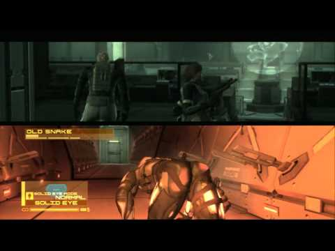 Metal Gear Solid 4 Guns of the Patriots - The Microwave Hall